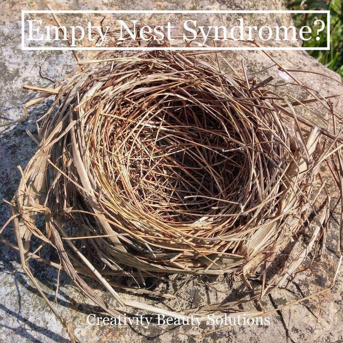 Empty nest syndrome, selfcare, creativity beauty, massage, facial