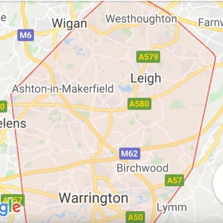 Airport transfers serving Wigan Leigh & Warrington