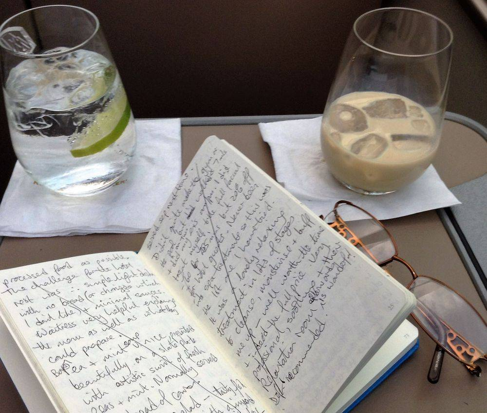 writing, travel journal, Rocky Mountaineer, Canada