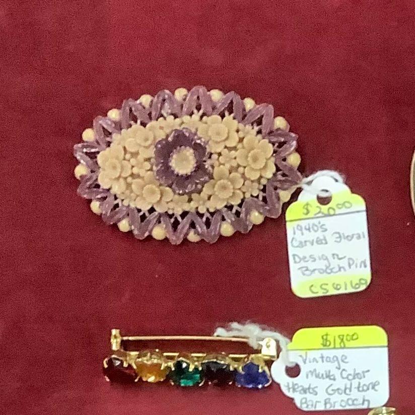 Vintage Brooch Pins  $18.00 & $20.00