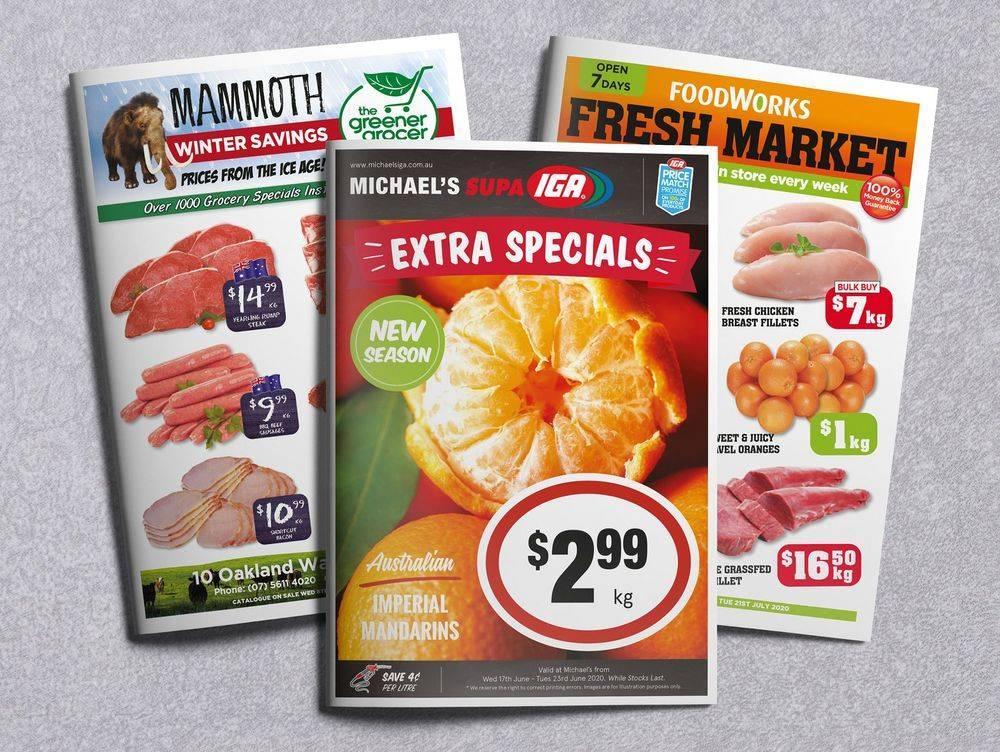Supermarket Promotion, Supa IGA, FoodWorks, Greener Grocer