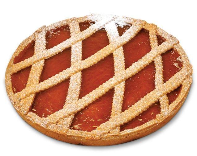 Mürbeteig Kuchen mit Aprikosenfüllung