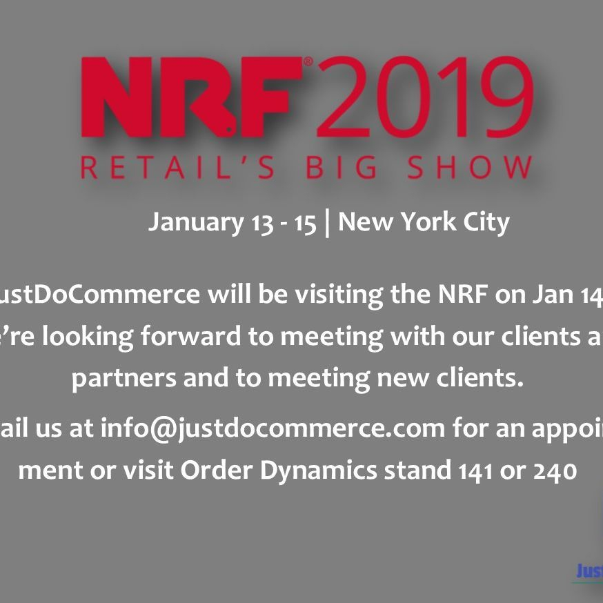 JustDoCommerce at NRF 2019