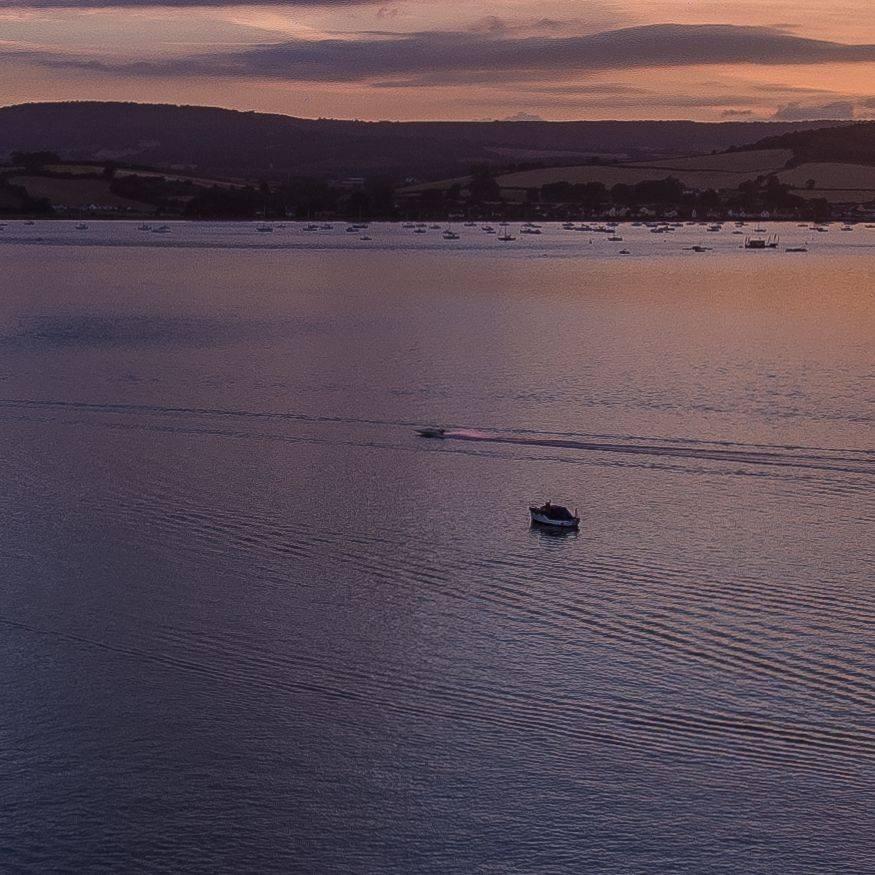 Exe Estuary at High tide.