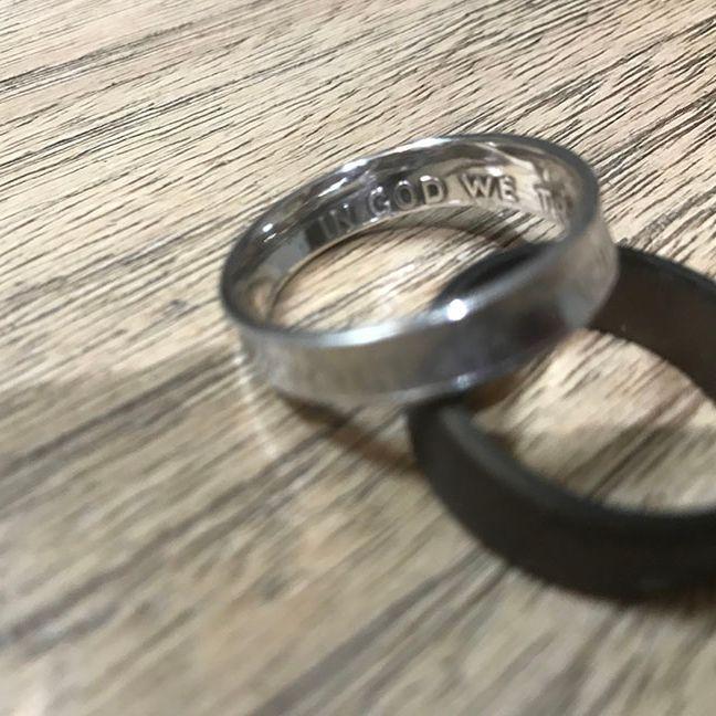 VThatcher - Men's Coin Ring