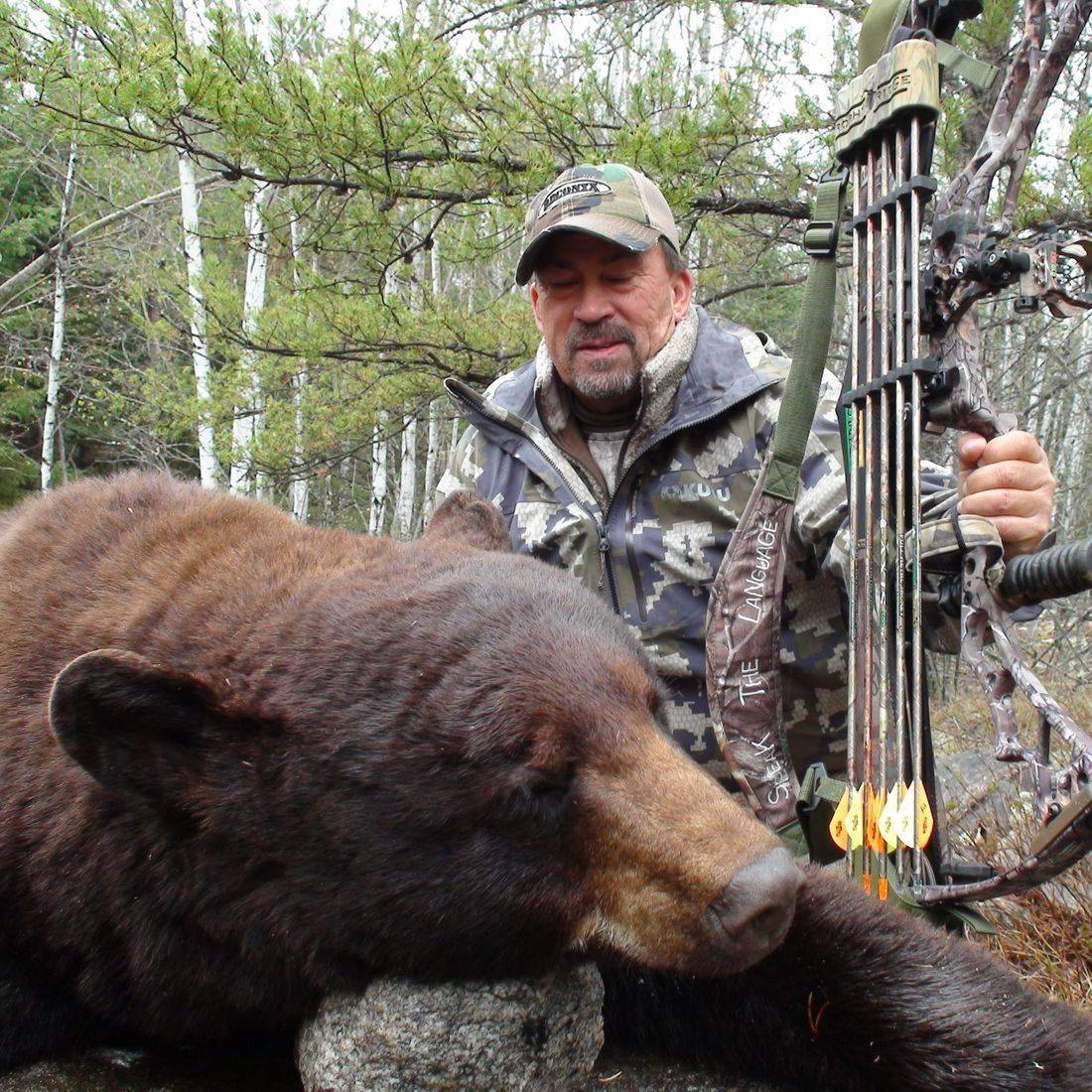 bear hunts, black bear hunting, Manitoba, Outfitters