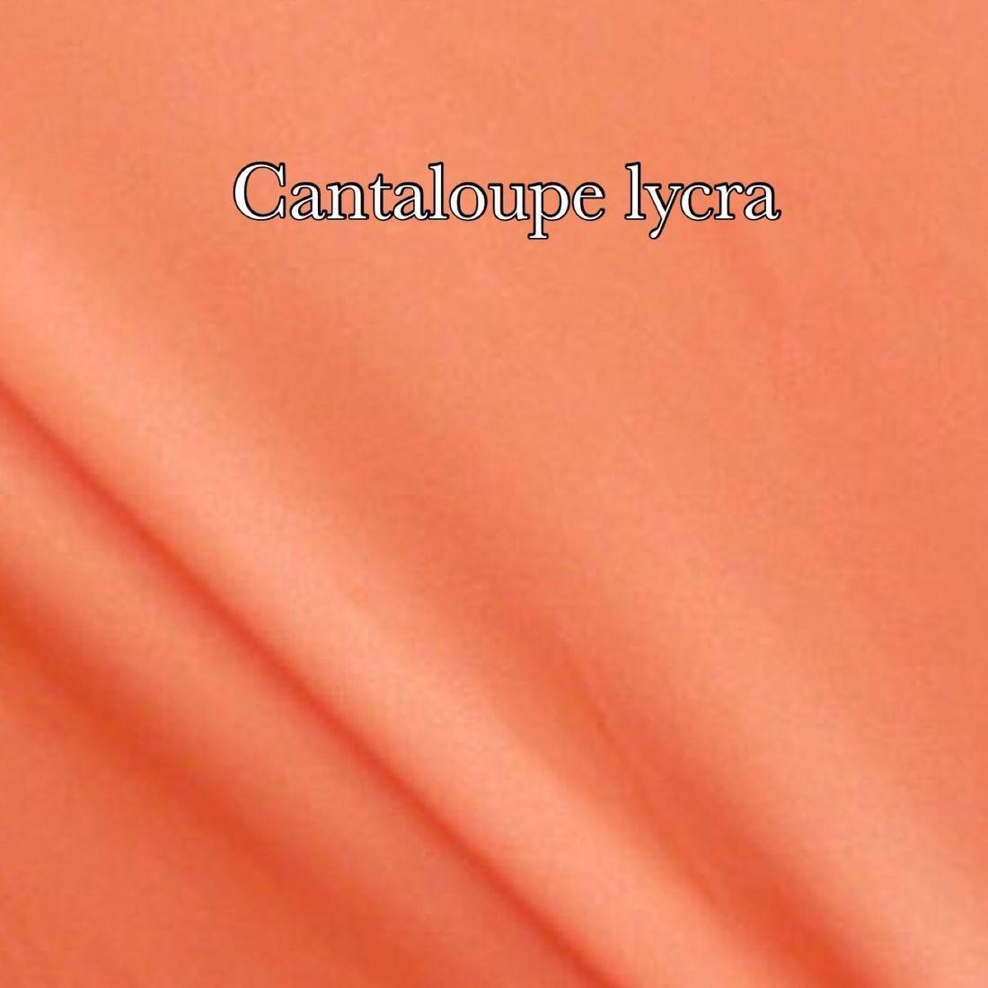 Cantaloupe lycra