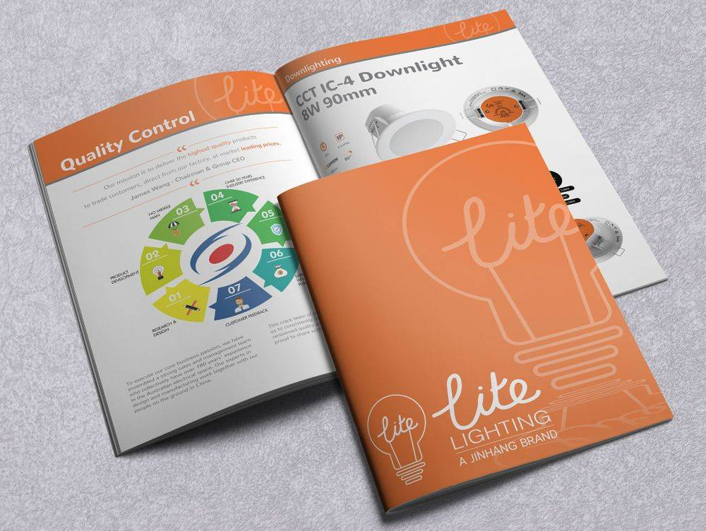 Product Range Guides, Annual Reports, Merchandise Brochures