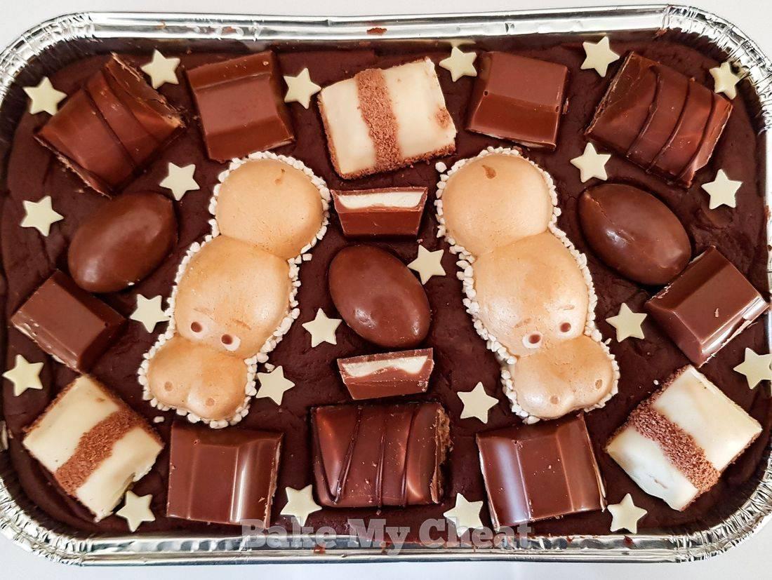 Kinder Bueno Gifts, Kinder fudg, happy hippo, birthday fudge