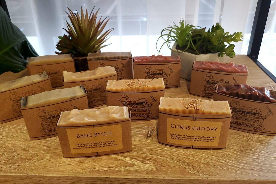 Locally made in savannah soap