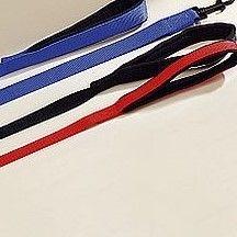 Herm Sprenger Padded Neoprene Lined Handle 25mm Nylon Lead 120cm Black