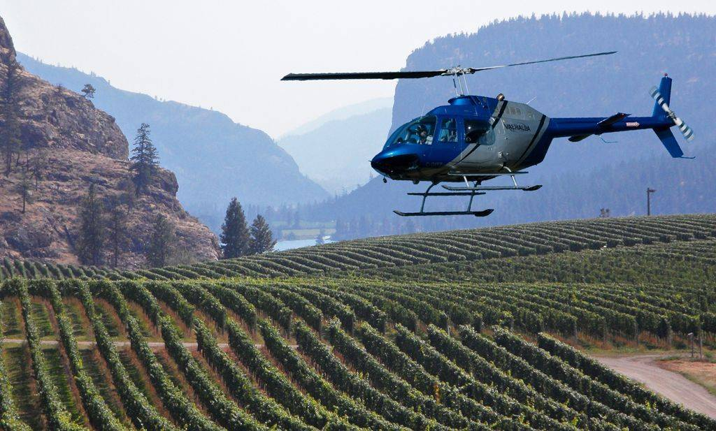 Helicopter Wine Tours Kelowna