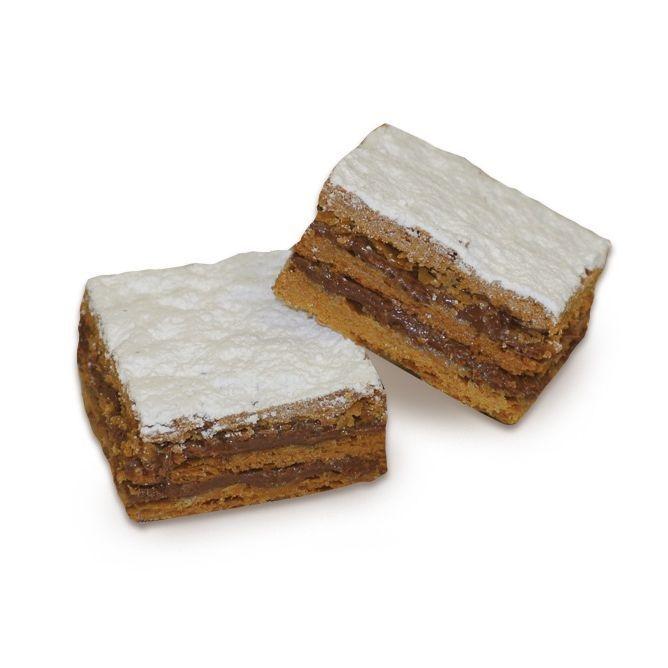 Millefoglie Mignon Cioccolato Mini Blätterteig geschichtet mit Schokoladencreme