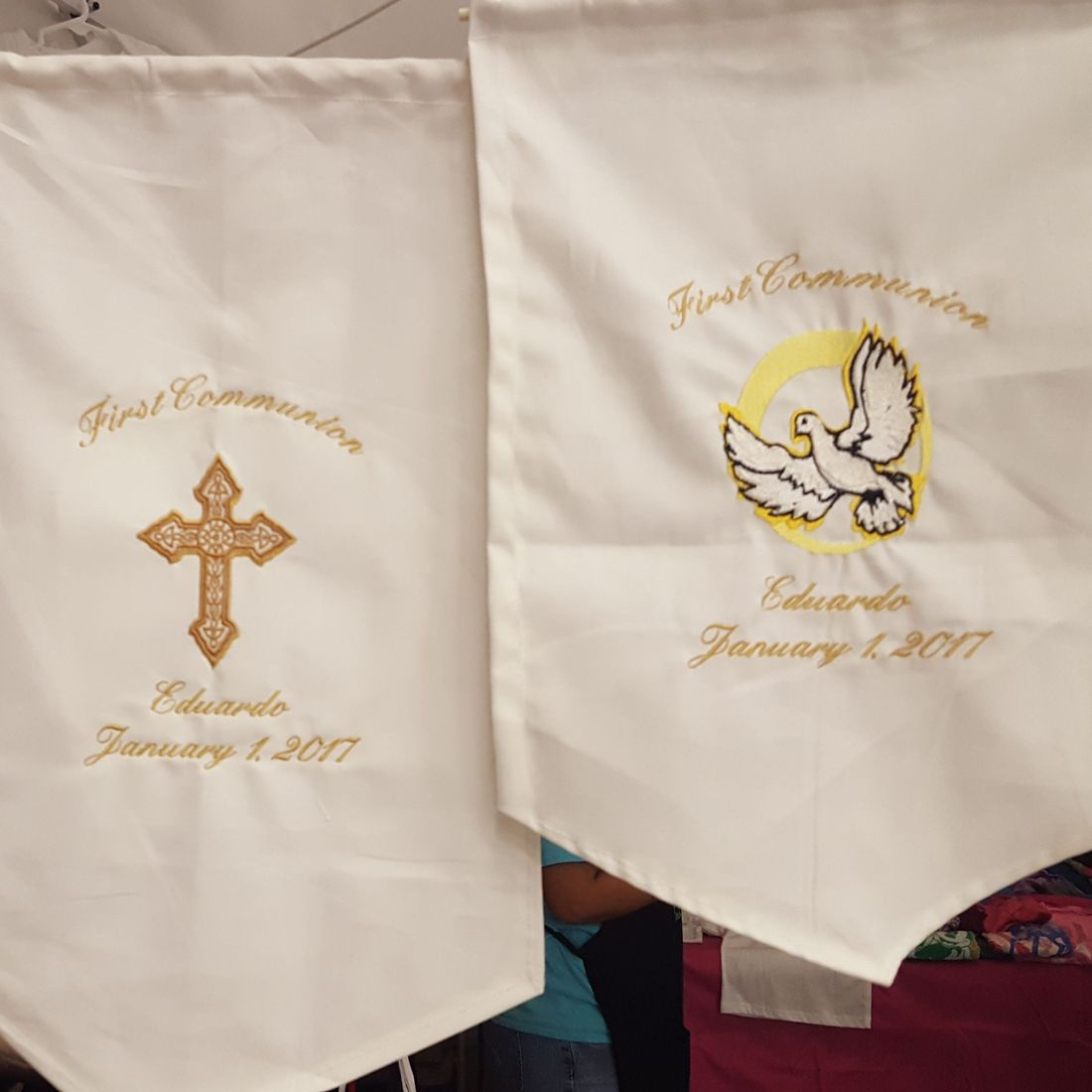 Embroidered Religious Banners