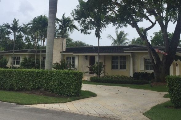 Delray Beach Forbes residence front exterior