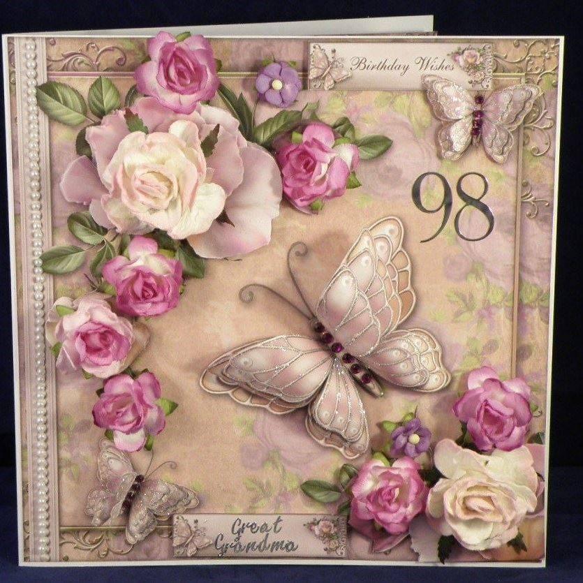 Lilac Scented Roses 8x8 Mini Kit kit391780 1443