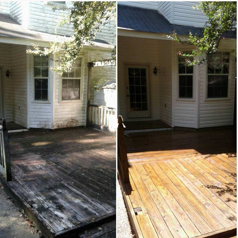 Decking and Fencing Restored