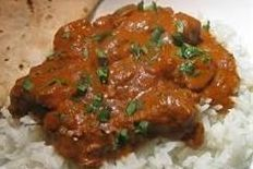 This is Arista's Chicken Tikka Masala