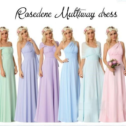 Matching Flower Girl and Bridesmaids