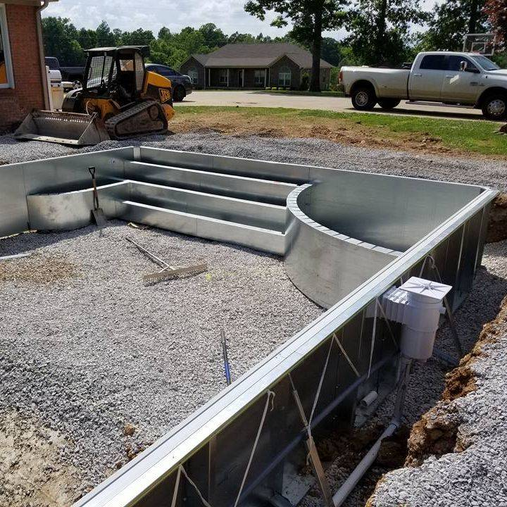 Custom Steel Wall Pool