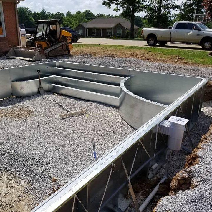 Custom Steel Wall Pool