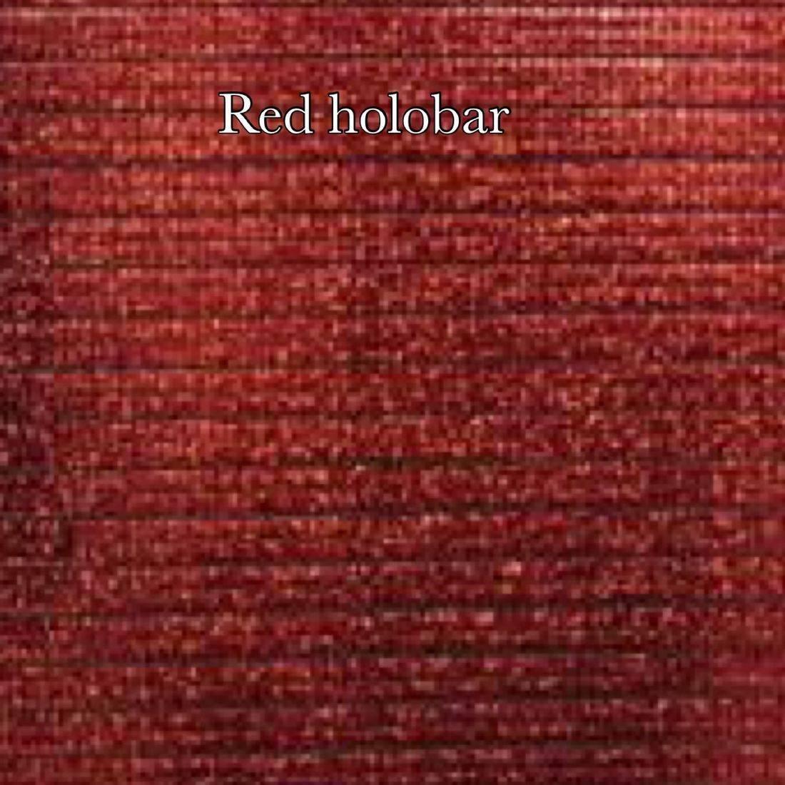 Red holobar