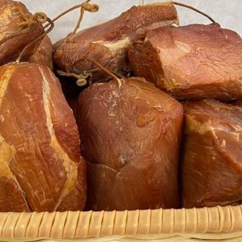 Smoked ham pieces ( for bean or split  pea soup )