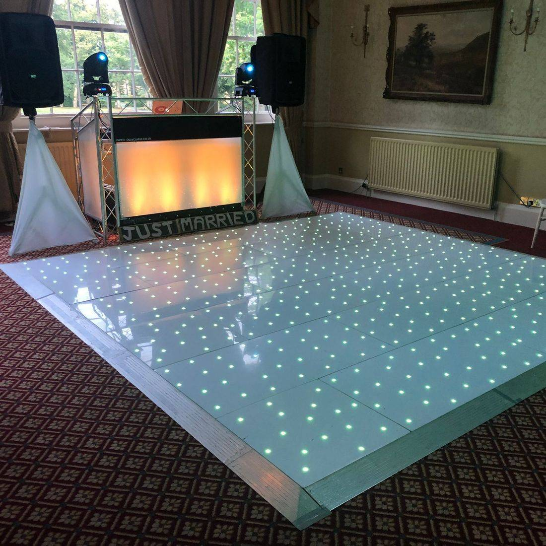 LED Dancefloor & Wedding DJ Worcestershire