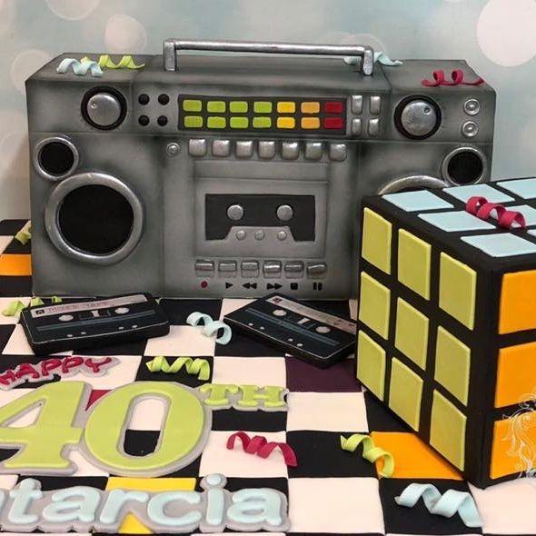 Birthday Cake 80's