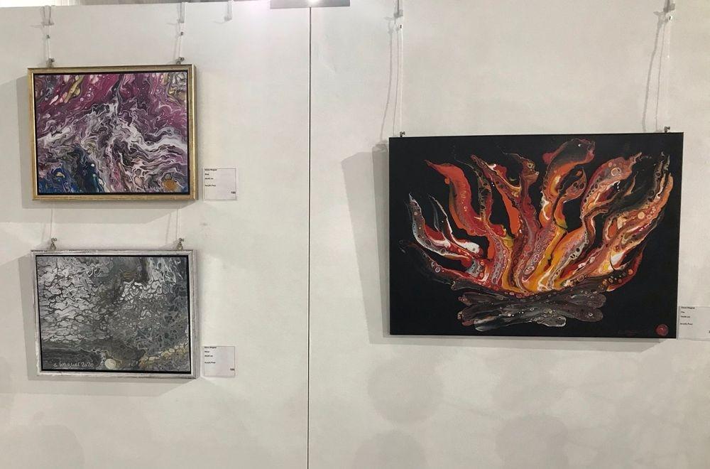 Kunst verkaufen, Silvia Wagner Art, Kunstausstellung, Ausstellung, Stein am Rhein SH, Schweiz, Ohne Kunst wird's still/Wir geben Farbe in die Gesellschaft, Migros,