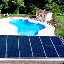 calentador piscina solar