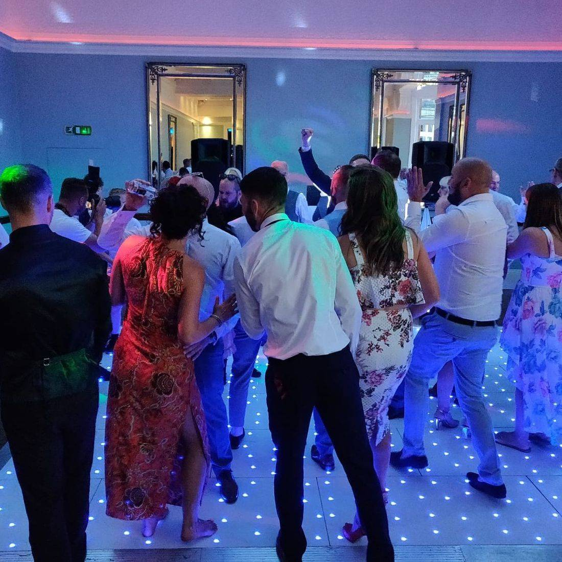 Pendrell Hall wedding venue LED Dancefloor Hire