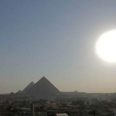 La grande pyramide de Kheops