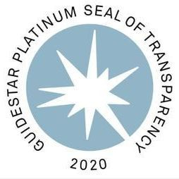 Platinum Level Seal of Transparency from Guidestar