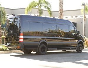 The Mercedes Limousine Style Sprinter from Napa Sonoma Wine Tasting Driver.