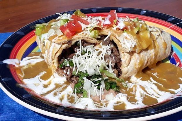 burrito, smothered
