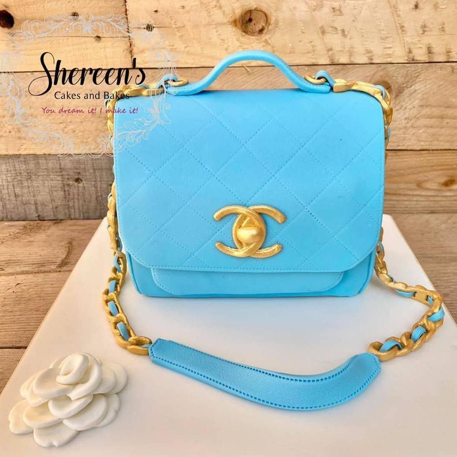 Chanel Bag Purse Hand Bag Handbag Cake Birthday