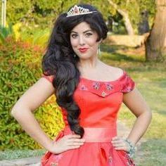 Princess Elena of Avalor character for birthday parties in  San Antonio