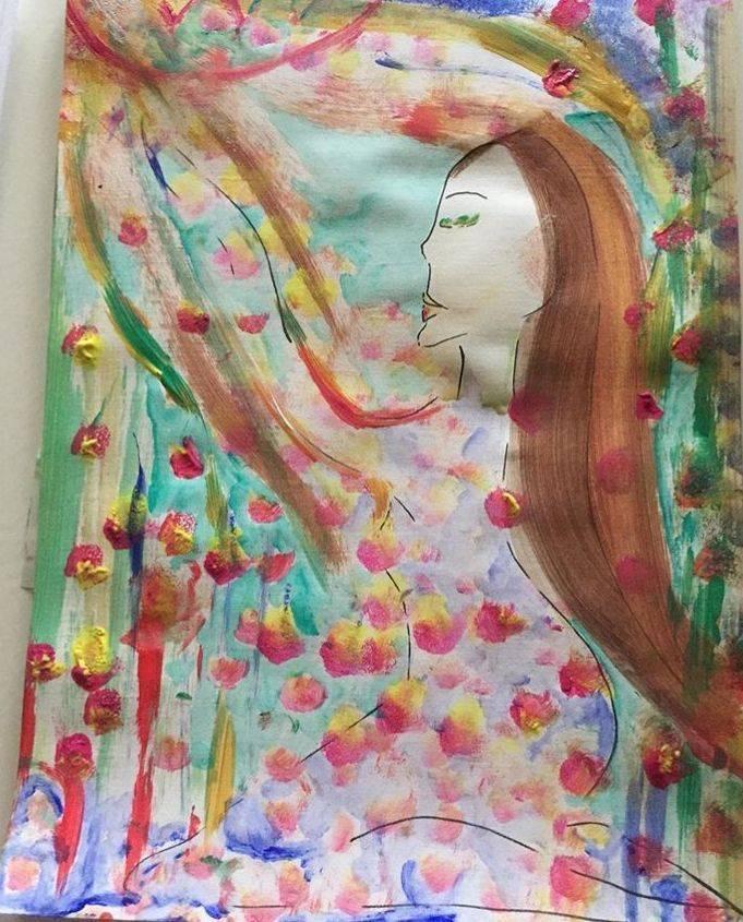 Indiankvinnan, healingarts, poem,personlig utveckling, andlig love, nature, lotusflfower