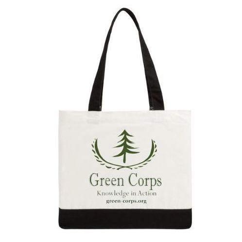 Green Corps Cotton Tote