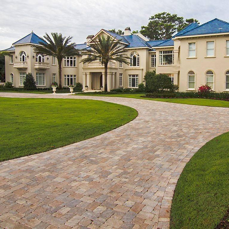 paver driveway, interlocking paver, paver installation