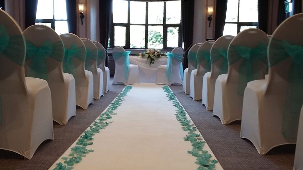 White Ceremony Aisle Carpet Hire