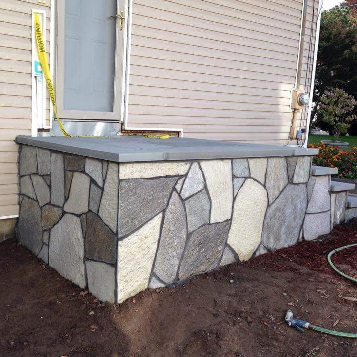 stone work masonry by Dino's Masonry and Landscaping