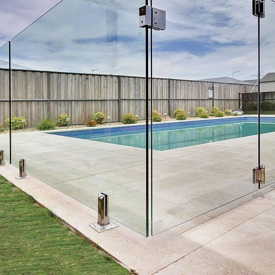 glass pool fence, frameless glass pool fence