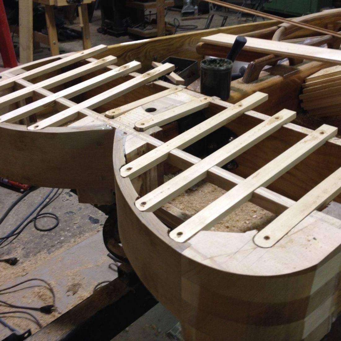 Custom Build Ice Boat by Bergersen Boat Co.