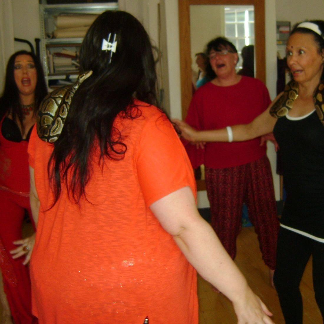Earthmoves snakes dance tuition energy joyful