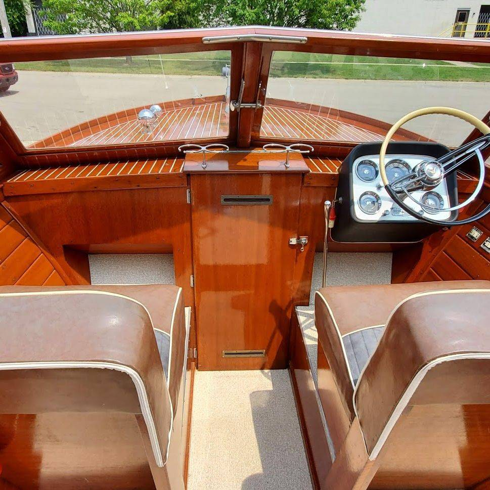 For Sale! 24' Chris Craft Sportsman Call Bergersen Boat Co