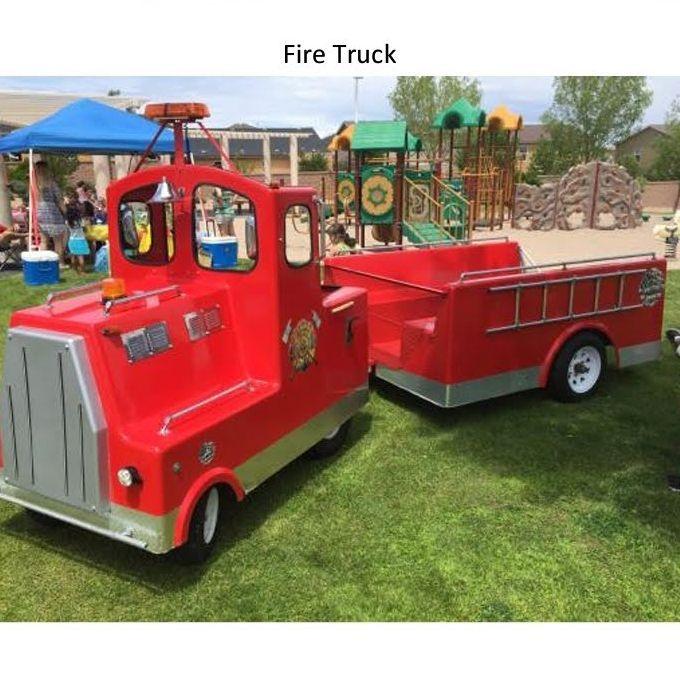 Engine No. 9 Fire Truck Rides