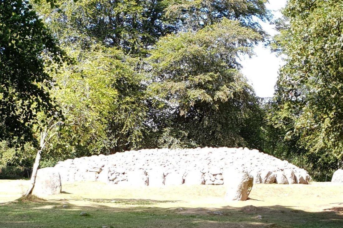 Clava cairns part of the inverness or invergordontour