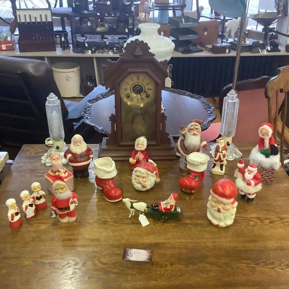Vintage Santa Clause Decorations   $9.00 to $45.00